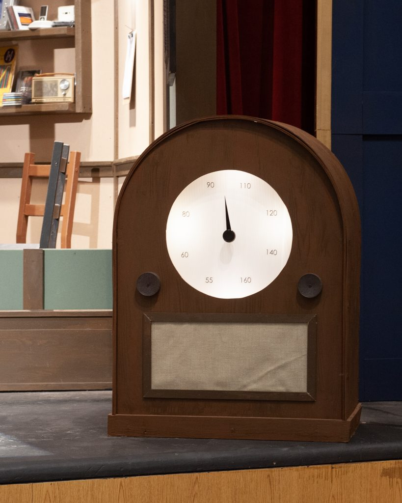 Set Design for The Time Machine, a Radio Play by Brady Whitcomb