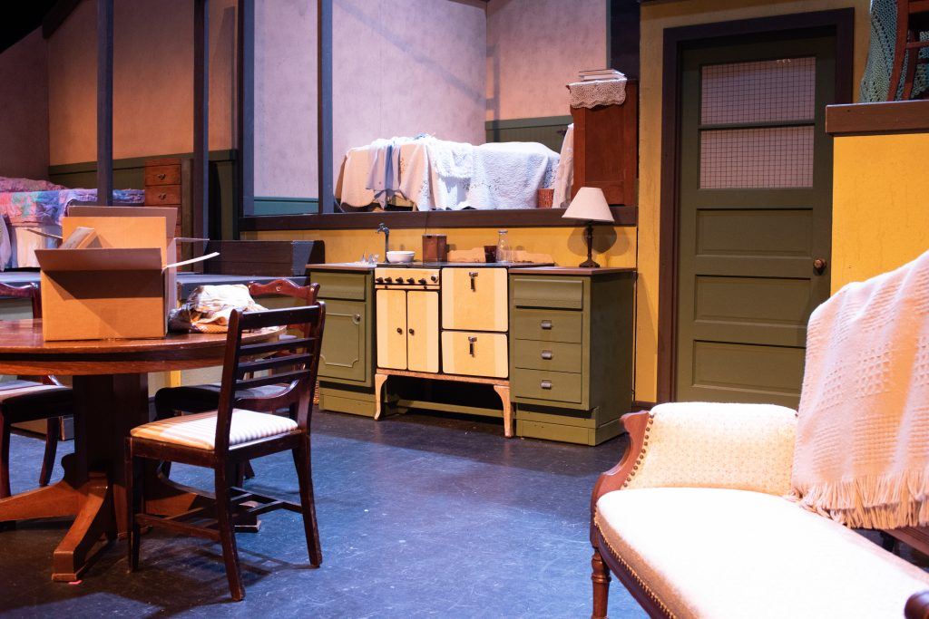 Set Design for The Diary of Anne Frank 2021 by Brady Whitcomb