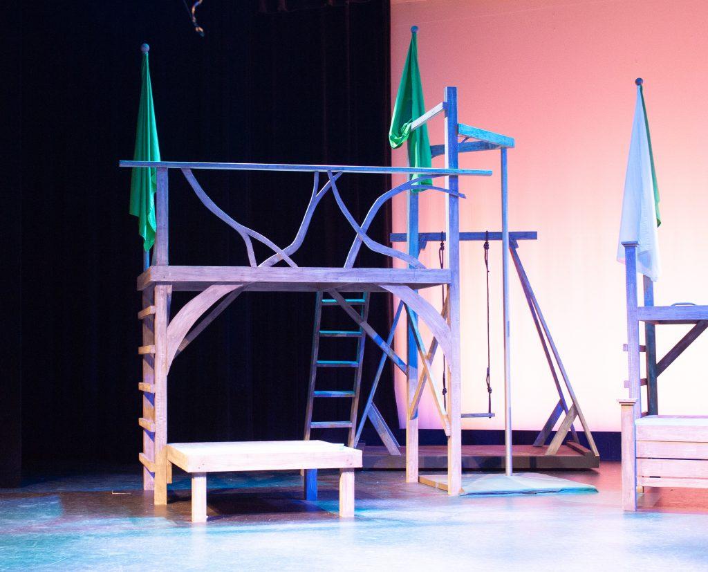 Set Design for Peter Pan Jr. 2021 by Brady Whitcomb